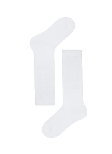Katia & Bony Family Dizaltı Çocuk Basic Çorap  Beyaz